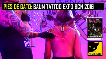 PIES DE GATO - BAUM TATTOO BCN 2016